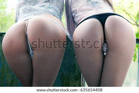 Two Female Sexy Butts Female With Sexy Ass Girls With Big Bum Posing In