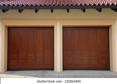 Two Garage Doors