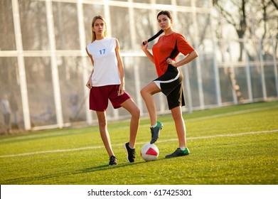 Unexpectedness! young soccer girls jailbait