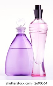 Two Graceful Vials with Perfumery