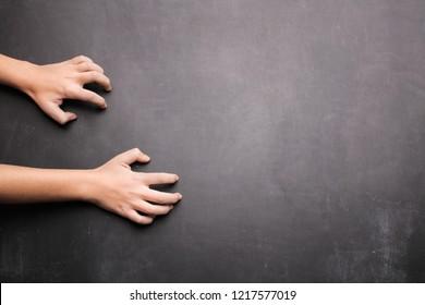 Nails On Chalkboard Stock Photos, Images \u0026 Photography