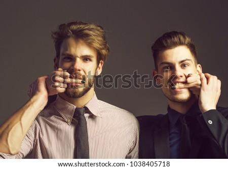 Two Handsome Men