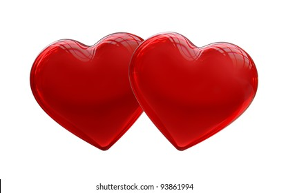 Two Hearts 3d