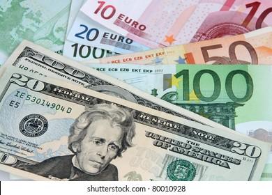 Euro Dollar Images, Stock Photos & Vectors | Shutterstock