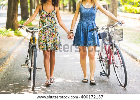 Lesbians On A Bicycle