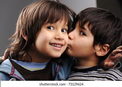 Two little boy