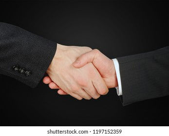 two man shaking hands