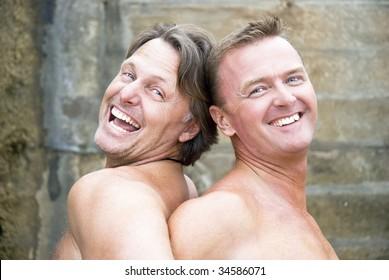 Mature gay men