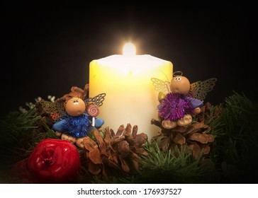Two Mice and a Candle