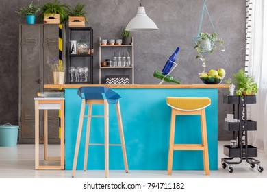 Astounding Imagenes Fotos De Stock Y Vectores Sobre Kitchen Barstool Gmtry Best Dining Table And Chair Ideas Images Gmtryco