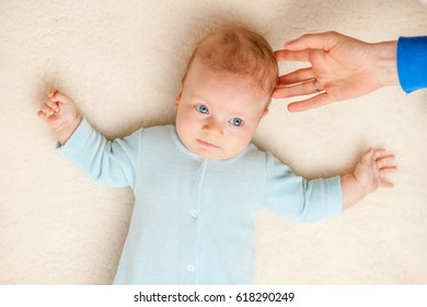 Two months old newborn baby