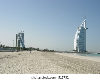 Two most luxurious hotel in dubai city, Burj al Arab and Jumeira Beach Resort
