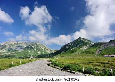 Two Mountains of Japan Alps