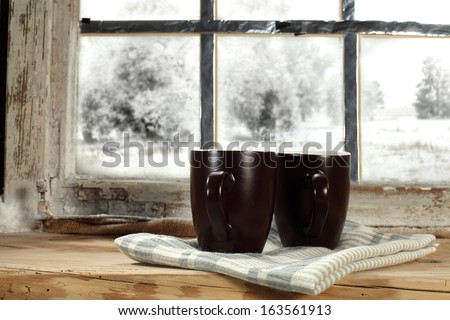 two mugs of winter