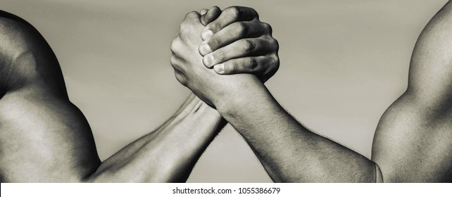Two Men Arm Wrestling Arms Wrestling Stock Photo (Edit Now ...