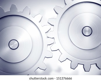 Two neat cogwheels