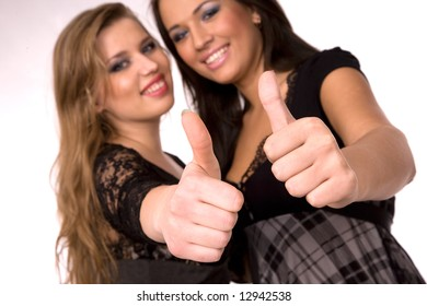 Nice girls thumbs
