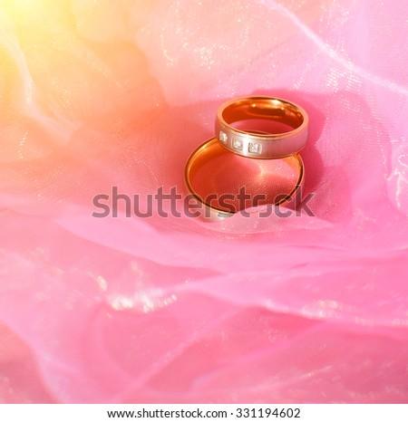 Nice Wedding Rings | Two Nice Wedd Two Nice Wedding Rings Stock Photo Edit Now