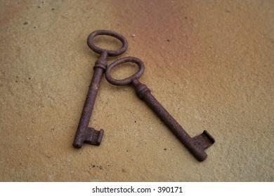 two old keys