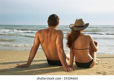 Two on a coast