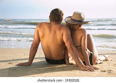 The two on a coast meet dawn