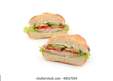 Two part of sandwich
