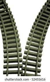 Two railway tracks