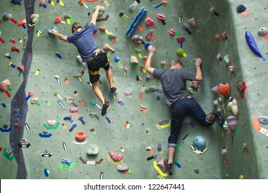 Two Rock Climbers