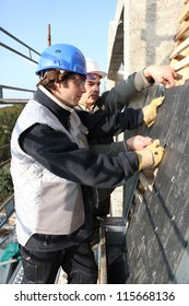 Two roofers