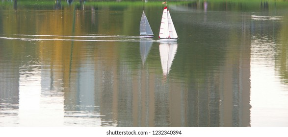 two sailer on water at day