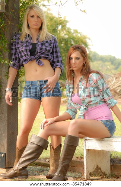 Sexy cow girls