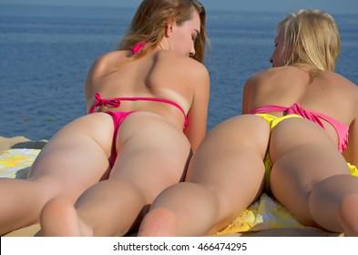 Large booty naked