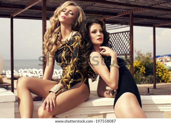 sexy glamour girls