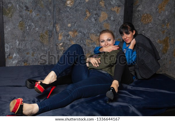 Sexy Lesbians Armpit Lick