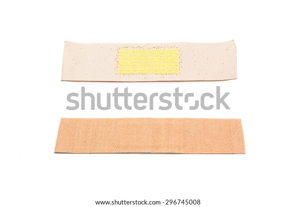Two Side Band Aid Plaster Bandage Stock Photo (Edit Now
