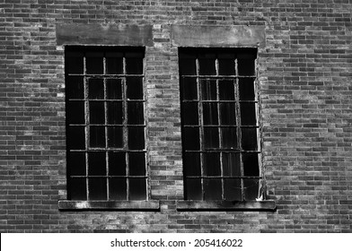 Two Spooky Prison Windows