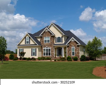 Two Story House Images Stock Photos Amp Vectors Shutterstock