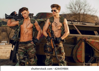 Men sexy naked military Naked Military