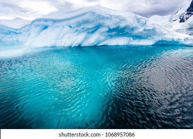 Two thirds of an iceberg is underwater