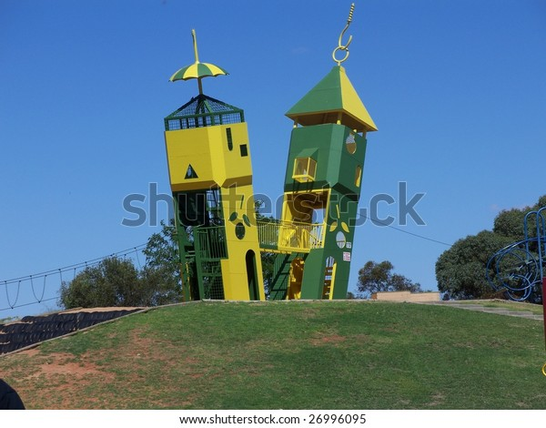 The two towers at Monash adventure park