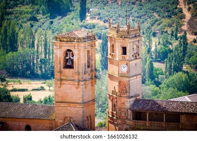 the two towers together of Alcaraz