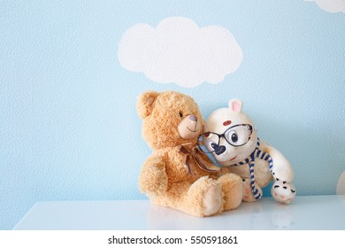 Two toys bear