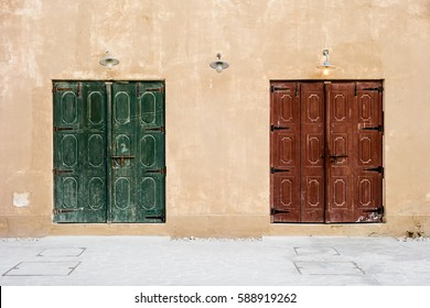 Two Traditional Doors