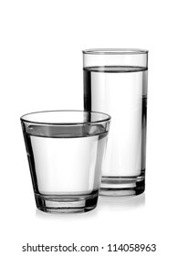 Two water glasses