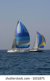 Two yachts
