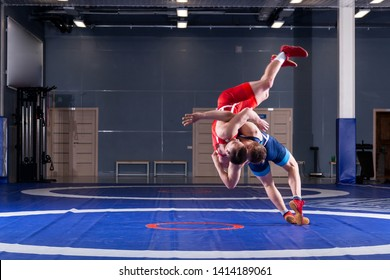 Freestyle Wrestling Images, Stock Photos & Vectors   Shutterstock