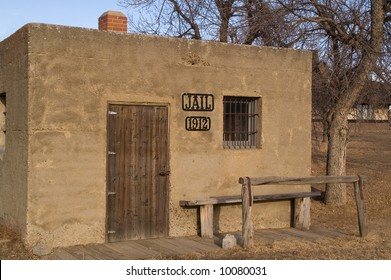 Two-cell jail built in 1912 in western USA
