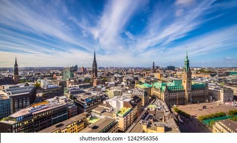 The twon hall of Hamburg - Germany