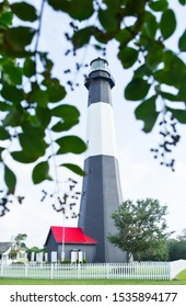 Tybee Island Lighthouse on a Beautiful September Summer Day