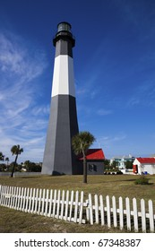 Tybee Island Lighthouse - seen in Georgia.